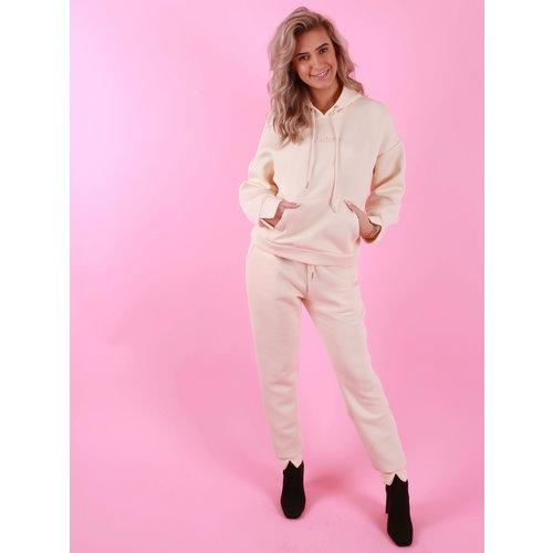 Drôle de  Copine J'adore Comfy Suit Beige