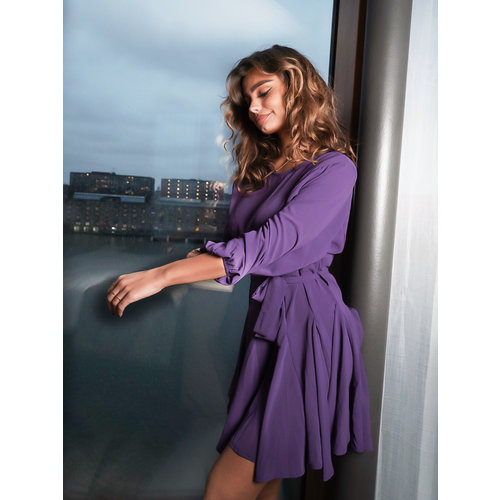 Ivivi Flow Dress Purple