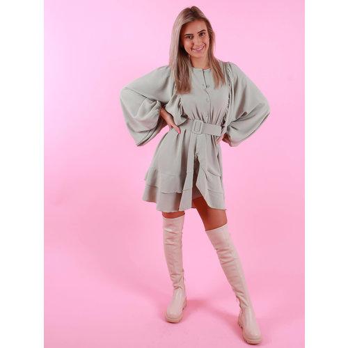 Belle Copine Nina Dress Mint
