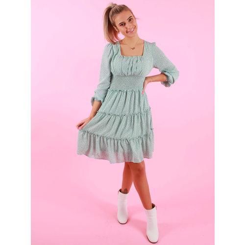 Copperose Flower Dress Mint