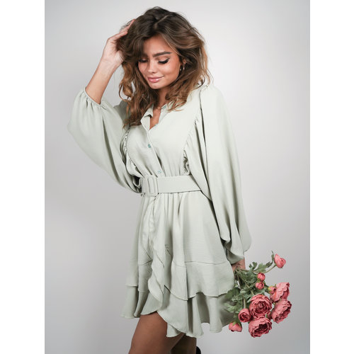 Belle Copine Nina Dress Mint