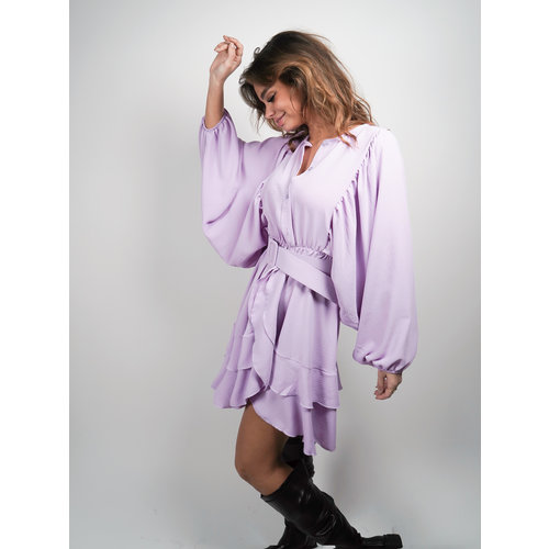 Belle Copine Nina Dress Lilac