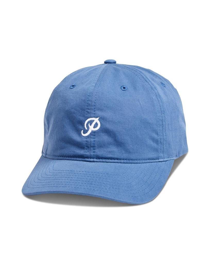 PRIMITIVE PRIMITIVE, MINI CLASSIC P DAD HAT, RAIN CLOUD