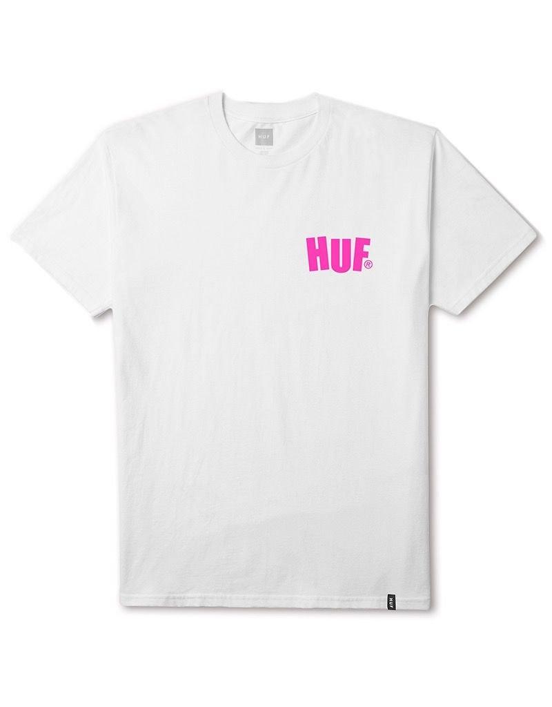 HUF HUF, HUF CITY ROCKERS S/S TEE, WHITE