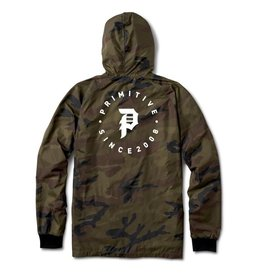 PRIMITIVE PRIMITIVE, DIRTY P ORBIT WINDBREAKER, CAMO