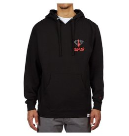 DIAMOND DIAMOND, DEATHWISH SIGN HOODIE, BLACK
