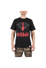 DIAMOND DIAMOND, DEATHWISH SIGN S/S TEE, BLACK