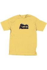 SKATE MENTAL SKATE MENTAL, APPAREL, 3D LOGO T-SHIRT, BANANA