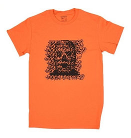 DOOM SAYERS DOOM SAYERS, APPAREL, GHOSTFACE TEE, ORANGE