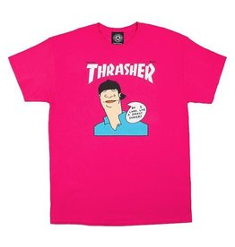 THRASHER THRASHER GONZ COVER S/S TEE PINK