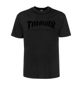 THRASHER THRASHER MAGAZINE LOGO S/S TEE BLACK