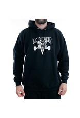 THRASHER THRASHER SKATEGOAT HOODED SWEAT BLACK