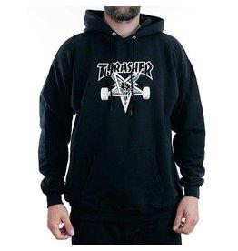 THRASHER THRASHER SKATEGOAT HOODED SWEAT BLACK