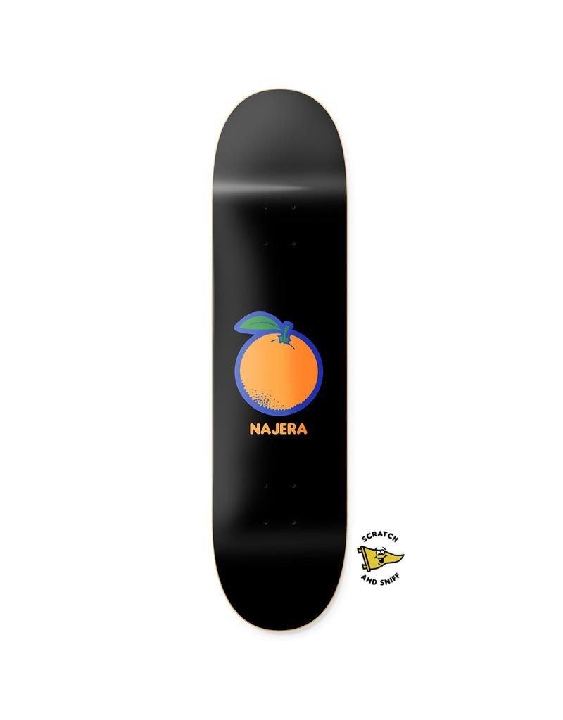 PRIMITIVE PRIMITIVE, DECKS, NAJERA ORANGE, MULTICOLOR, 8.5
