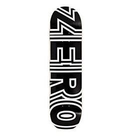 ZERO ZERO BOLD BLACK/WHITE 8.25