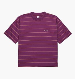 POLAR POLAR Checkered Surf Tee Wine Red
