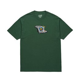 POLAR POLAR Puff Tee Forest Green