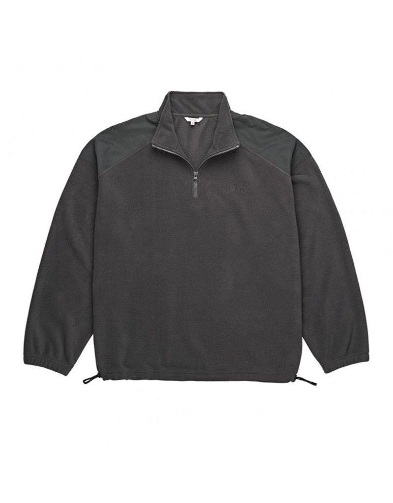 POLAR POLAR Lightweight Fleece Pullover Black