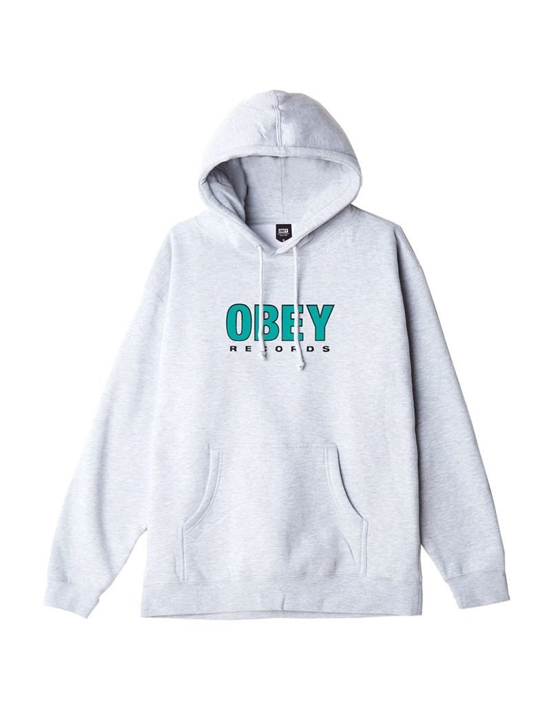 OBEY OBEY Records 2 Heather grey