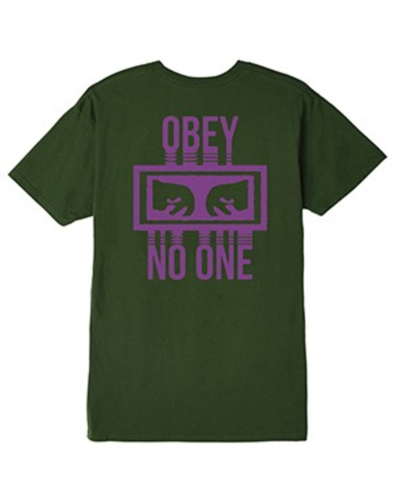 OBEY OBEY No One Forest Green