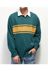 OBEY OBEY Hero Classic Polo LS Dark Teal