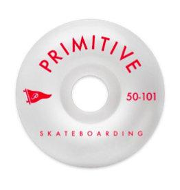 PRIMITIVE PRIMITIVE, WHEELS, PENNANT ARCH TEAM WHEEL, 1 RED, 50 mm