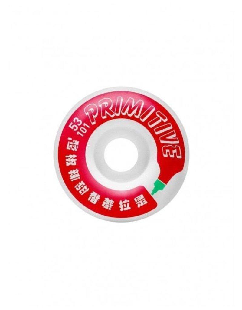 PRIMITIVE PRIMITIVE, WHEELS, HUY FONG BOTTLE WHEEL, MULTI, 53 mm