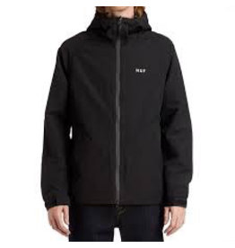 HUF HUF, STANDARD SHELL JACKET, BLACK