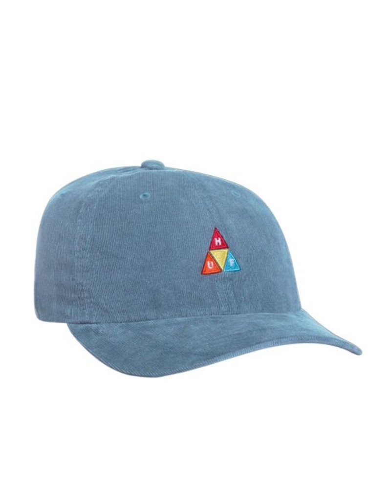HUF HUF, CORDUROY TT CV 6 PANEL HAT, CLOUD BLUE