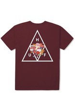 HUF HUF, MEMORIAL TRIANGLE S/S TEE, TERRA COTTA