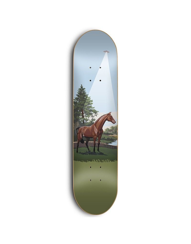 SKATE MENTAL SKATE MENTAL, DECKS, MOTTA - HORSE ABDUCTION / BOOKS 8.125 SKM4