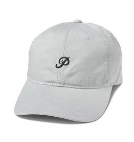 PRIMITIVE PRIMITIVE, MINI CLASSIC P DAD HAT, GREY