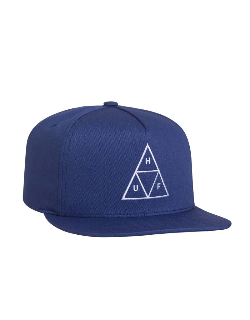 HUF HUF, ESSENTIALS TT SNAPBACK HAT, TWILIGHT BLUE