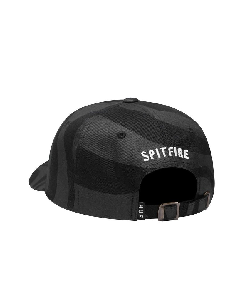HUF HUF, SPITFIRE SWIRL CV HAT, BLACK