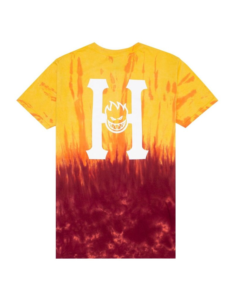 HUF HUF, SPITFIRE CLASSIC H TD S/S TEE, RED