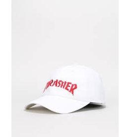 THRASHER TRASHER NECKFACE OLD TIMER HAT WHITE