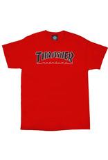 THRASHER THRASHER OUTLINED S/S TEE