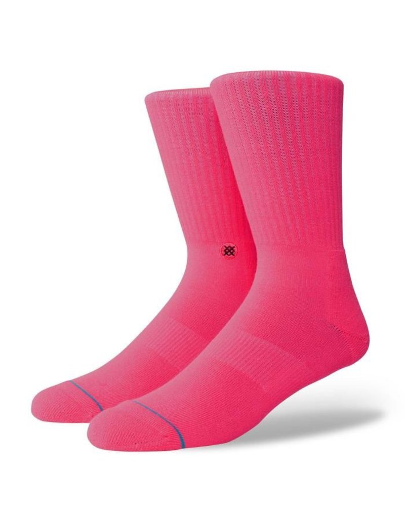 STANCE STANCE, MEN, ICON ANTHEM, FLORESCENT PINK, L