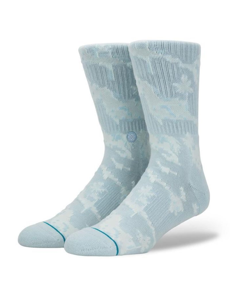 STANCE STANCE, MEN, PIXEL PALMS, LIGHT BLUE, L