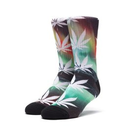 HUF HUF, PLANTLIFE ALL THE LIGHTS SOCKS, GREEN