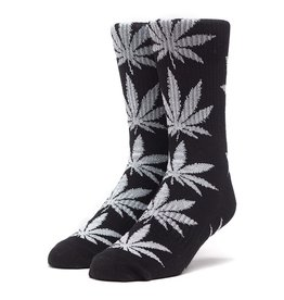 HUF HUF, PLANTLIFE TINSEL SOCKS, BLACK