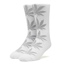 HUF HUF, PLANTLIFE TINSEL SOCKS, WHITE
