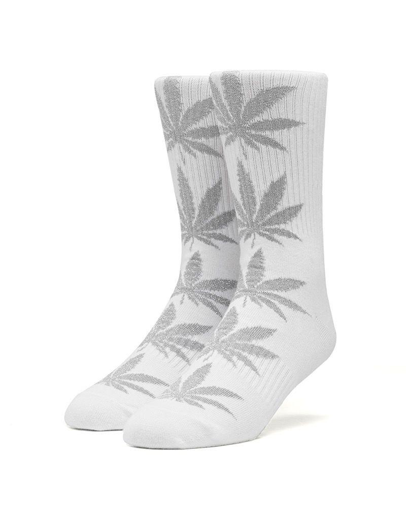 HUF HUF, PLANTLIFE TINSEL SOCKS, WHITE