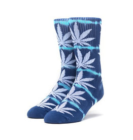 HUF HUF, PLANTLIFE LIGHTNING WASH SOCKS, MOON INDIGO