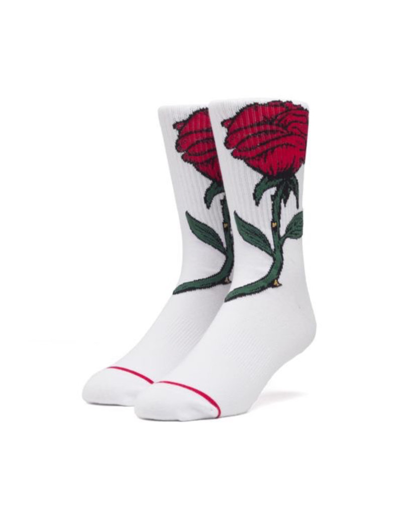 HUF HUF, FAREWELL SOCKS, WHITE