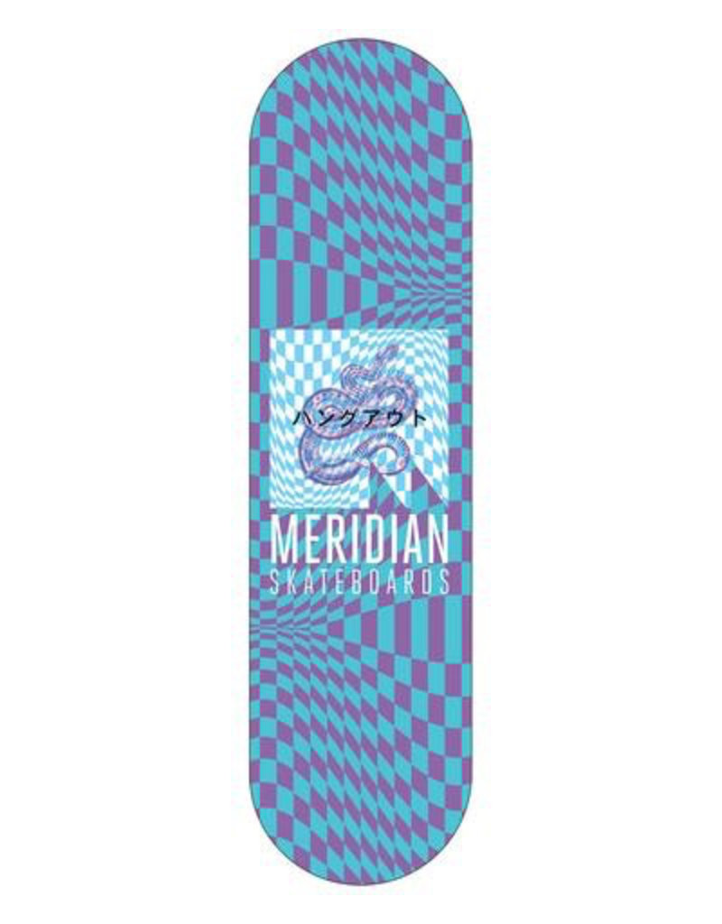 MERIDIAN MERIDIAN, DECKS, MAYBE MONDAY DECK, BLUE, 8.25