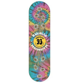 MERIDIAN MERIDIAN, DECKS, GRAITFUL SHRED DECK, RAINBOW, 8.25