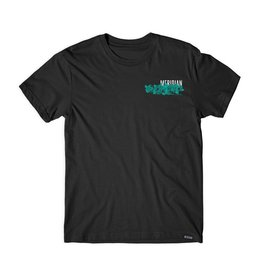 MERIDIAN MERIDIAN, WE HANG OUT TEE, BLACK
