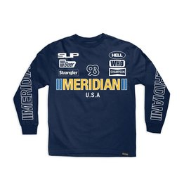 MERIDIAN MERIDIAN, RACE DAY L/S TEE, NAVY BLUE