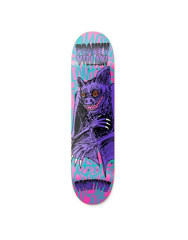 PRIMITIVE PRIMITIVE, DECKS, FRANKY FOUR FINGERS , TEAL, 8.0